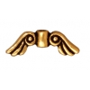 Bead Angel Wings Small Antique Gold